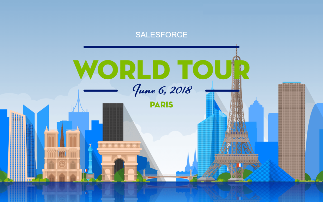 ZENCONNECT au Salesforce World Tour Paris 2018