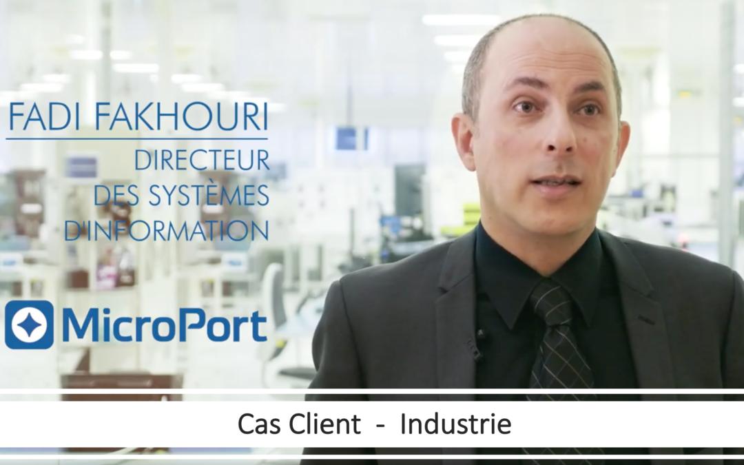 Vidéo témoignage client : Microport CRM