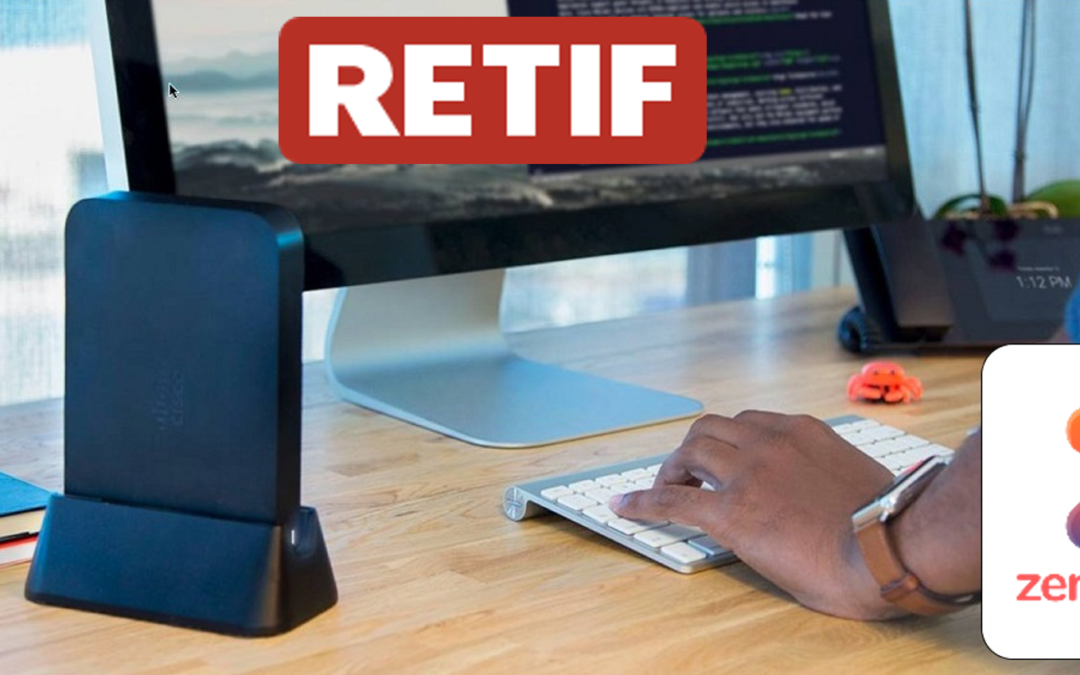 Les ZenPacks distribués par RETIF