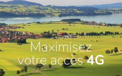Maximisez votre accès Internet 4G
